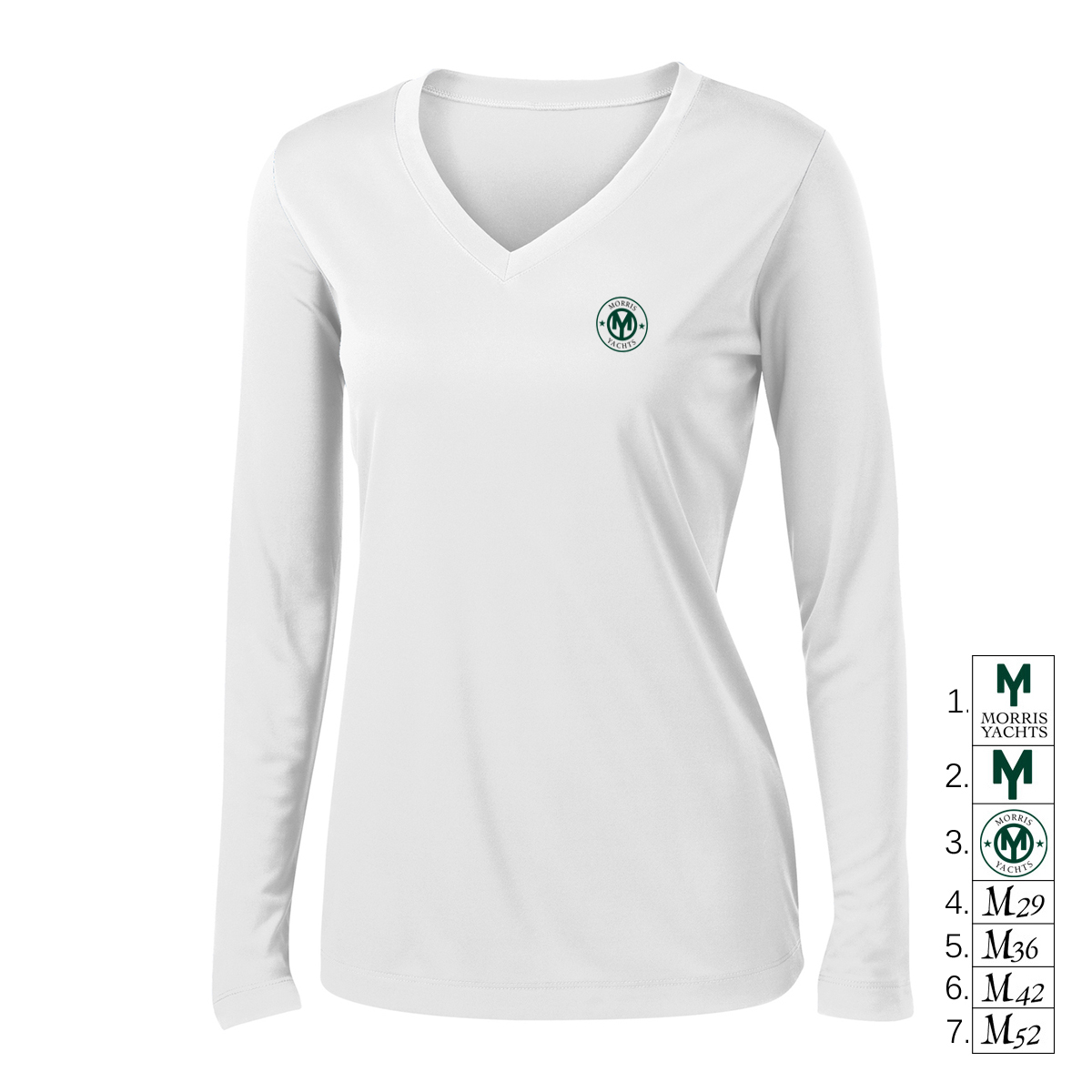 MORRIS YACHTS - WMNS LONG SLEEVE TECH TEE