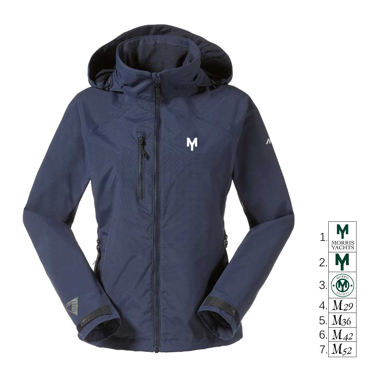 MORRIS YACHTS - WOMENS MUSTO CORSICA JACKET