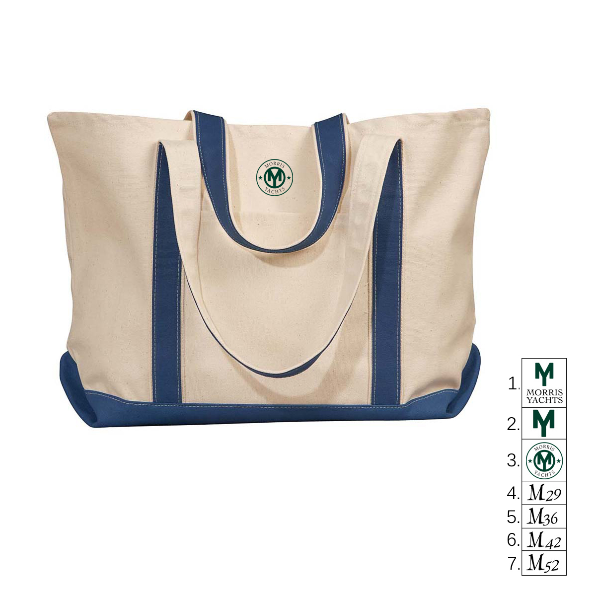 MORRIS YACHTS - CANVAS TOTE