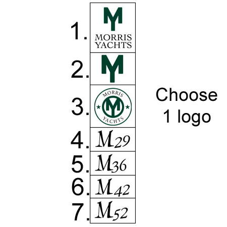 Morris Yachts - Logo Added to Other Products