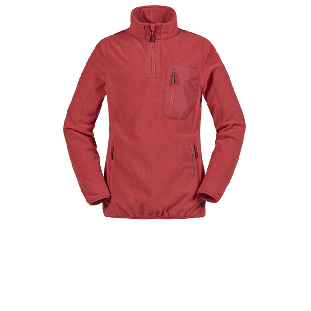 MENS TUNDRA ZIP NECK FLEECE (SE3510)