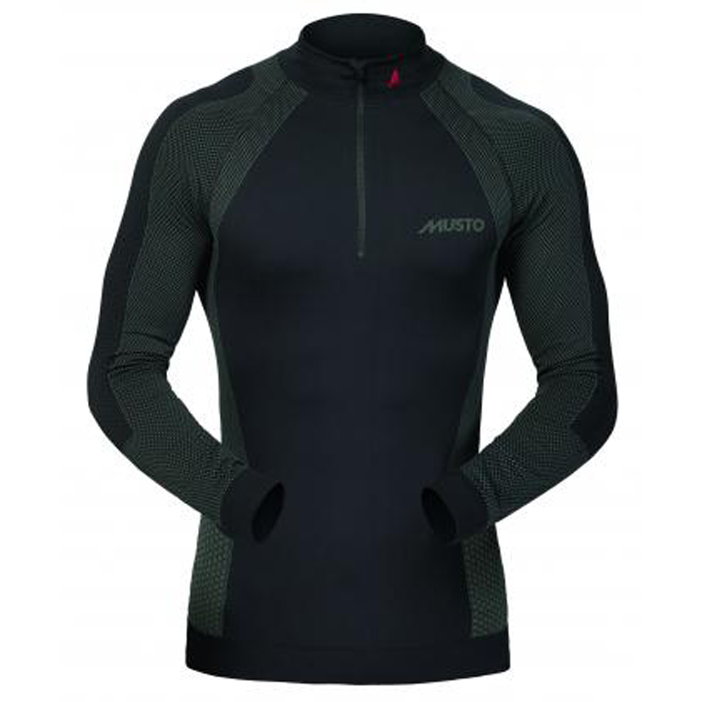 MUSTO ACTIVE BASE LAYER ZIP NECK TOP (SU0160)