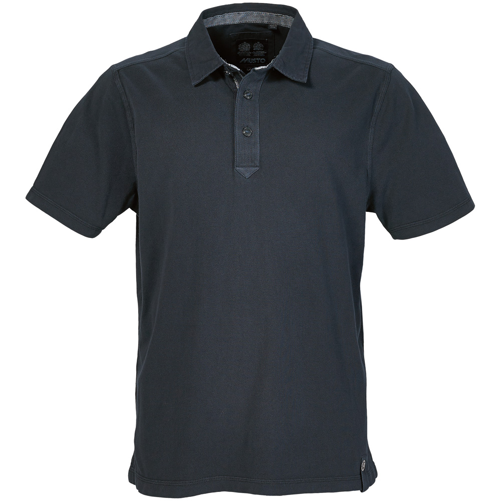 MUSTO CANVAS COLLAR POLO (MP0643)