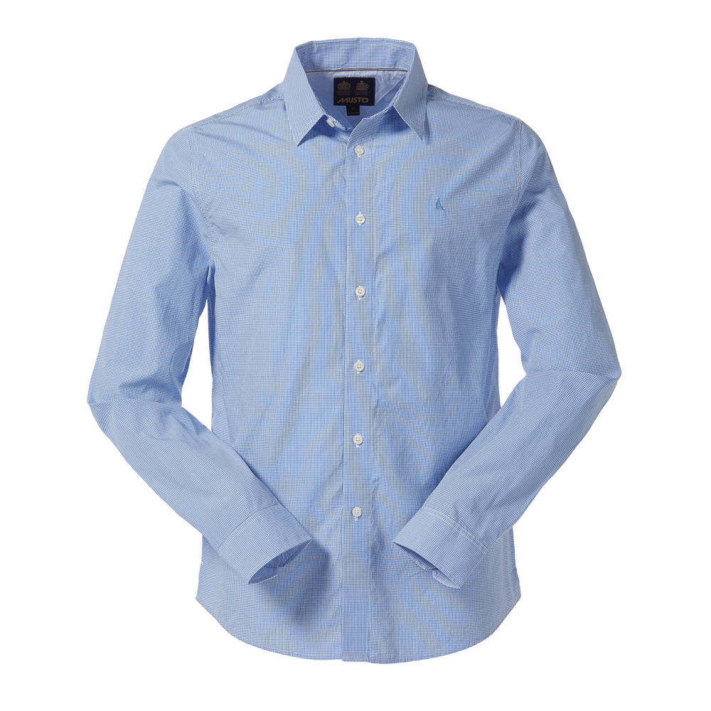MUSTO CHARLESTON GINGHAM SHIRT (MW1350)