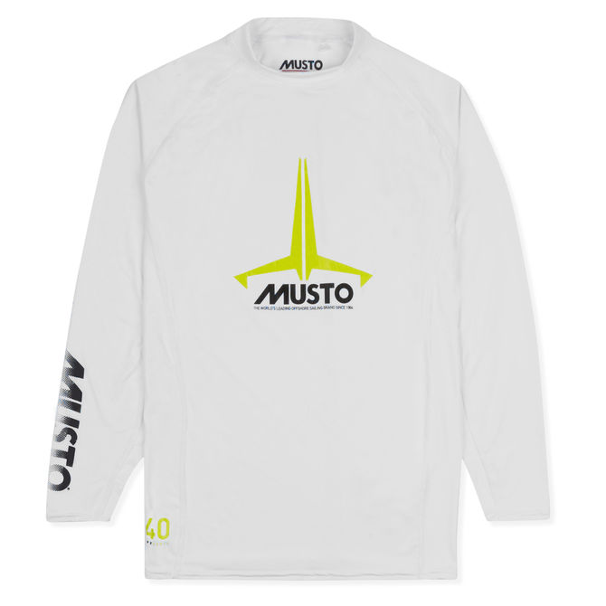 MUSTO YOUTH INSIGNIA UV FAST DRY LONG SLEEVE T-SHIRT (80803)