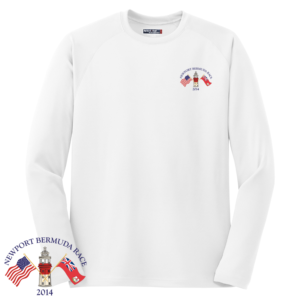NBR - M'S L/S TECH TEE - FLAGS