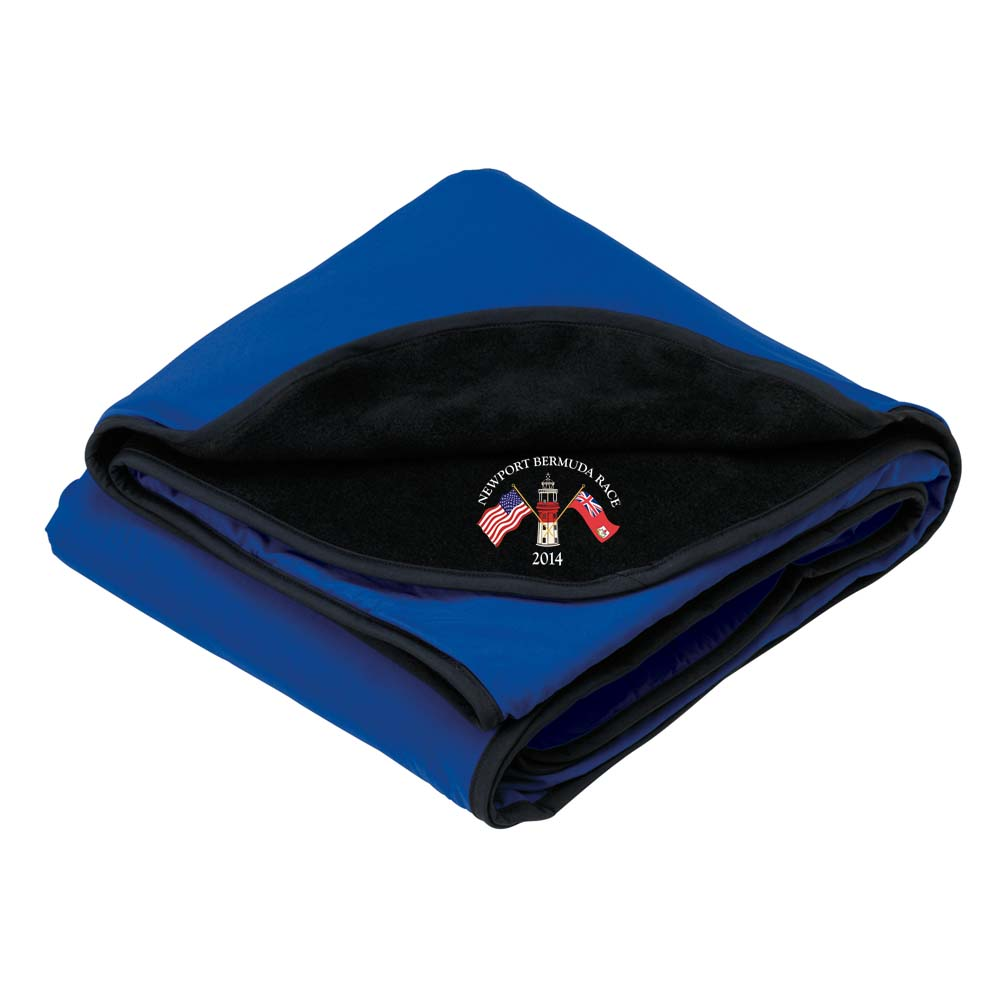 NBR - NYLON & FLEECE TRAVEL BLANKET