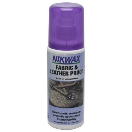 NIKWAX FABRIC AND LEATHER PROOF - SPRAY ON (792)