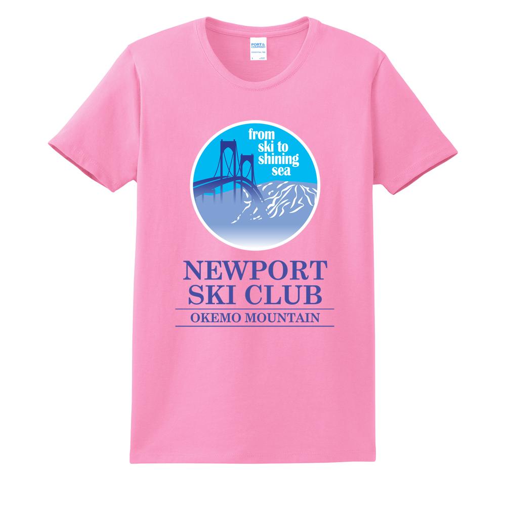 NEWPORT SKI CLUB - BRIDGE - W'S S/S COTTON TEE