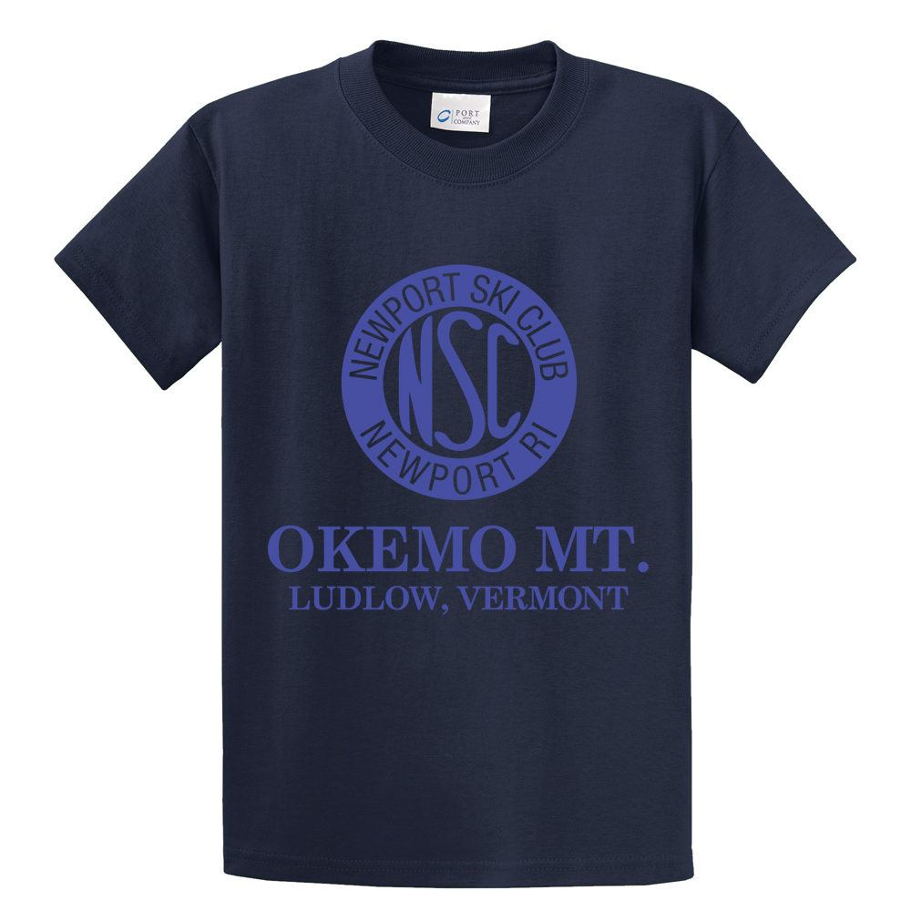 NEWPORT SKI CLUB - STANDARD - Men's S/S COTTON TEE