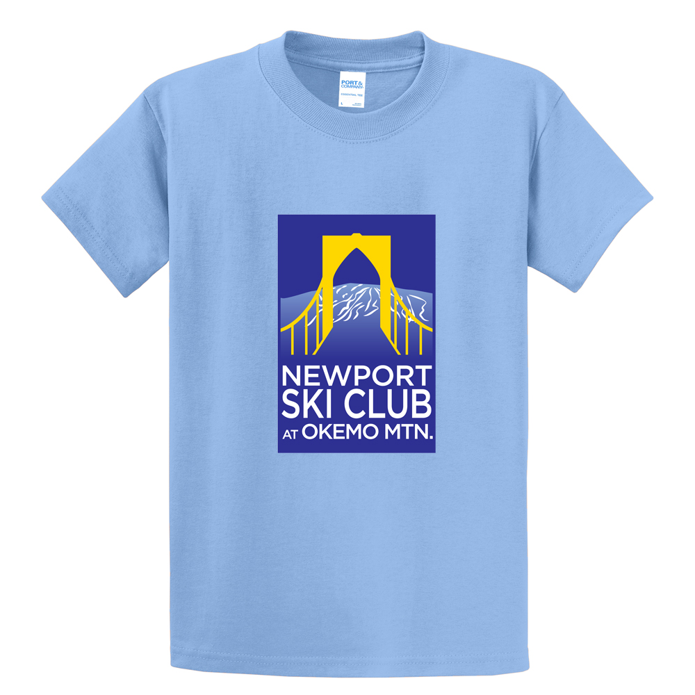 NEWPORT SKI CLUB - BRIDGE 3 - M'S S/S COTTON TEE