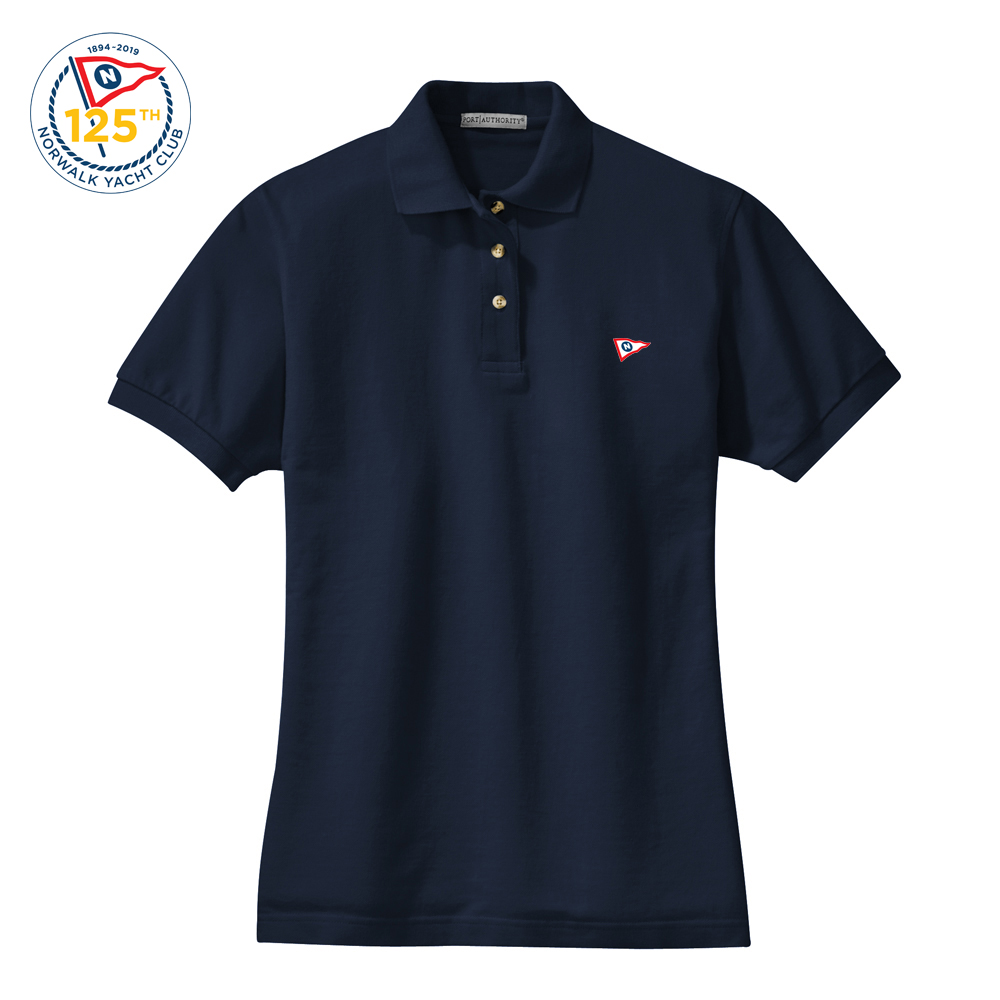NORWALK YACHT CLUB W'S COTTON POLO