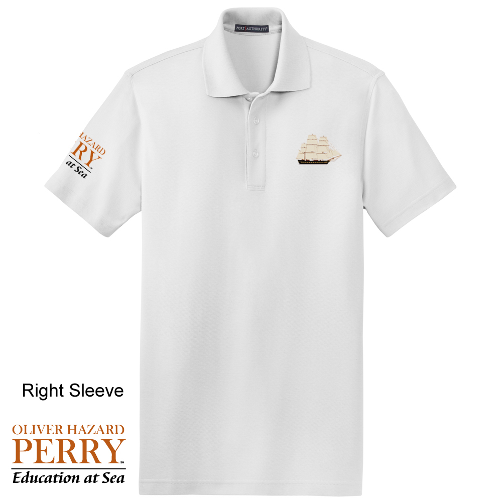OLIVER HAZARD PERRY - M'S COTTON POLO