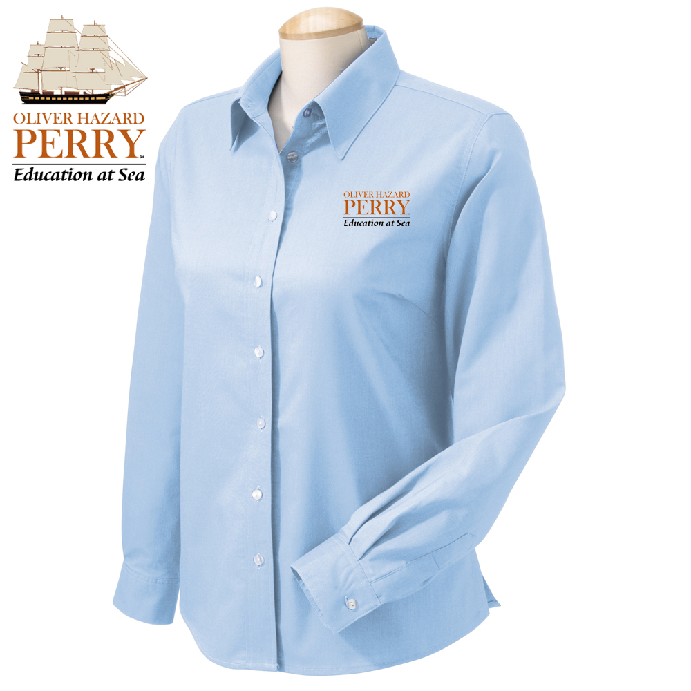 OLIVER HAZARD PERRY - W'S OXFORD SHIRT