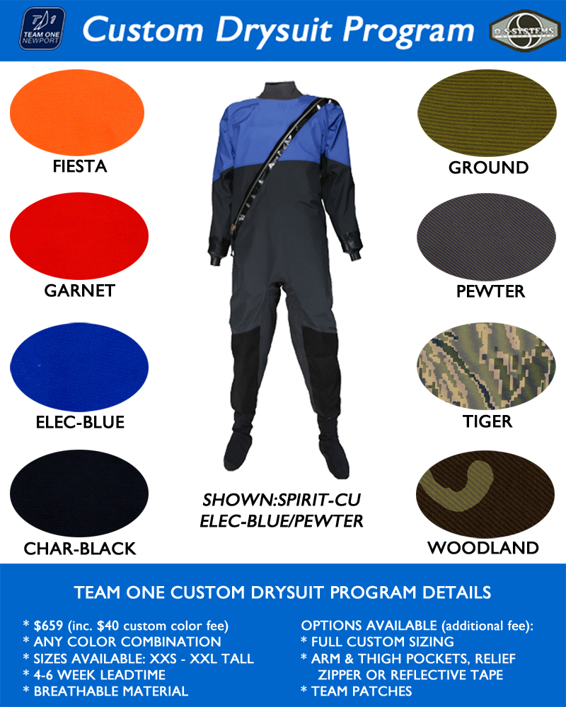 TON CUSTOM SPIRIT BREATHABLE DRYSUIT