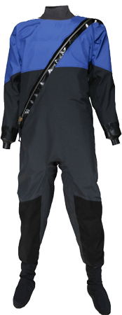 TON BREATHABLE SPIRIT DRYSUIT WITH LATEX BOOTIES