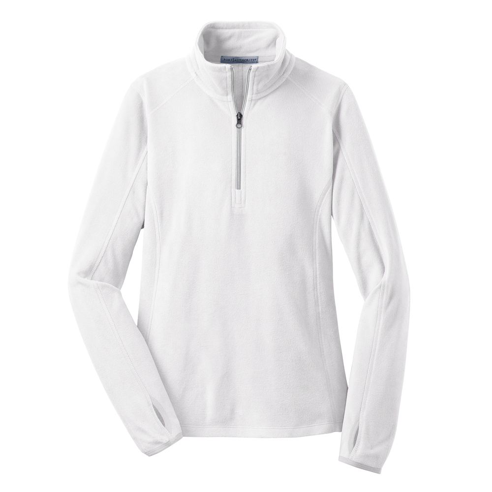 PORT AUTHORITY LADIES MICROFLEECE 1/2 ZIP PULLOVER (L224)