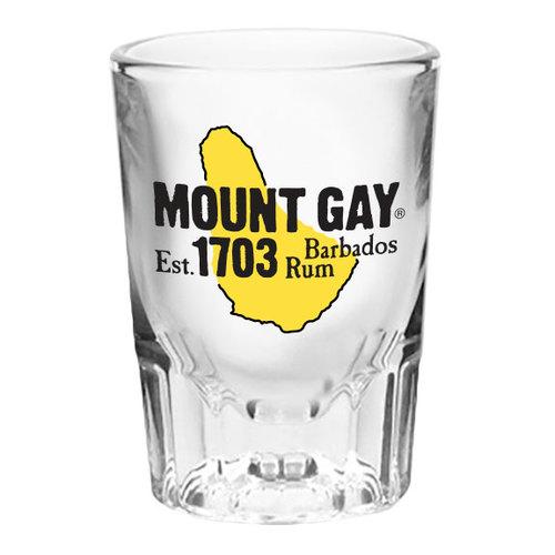 MOUNT GAY SHOT GLASS