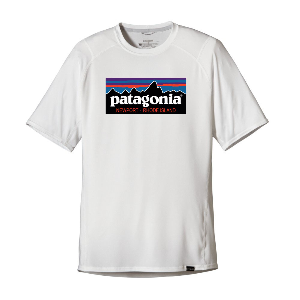 Patagonia Mens Capilene Daily T Shirt Mountain Design Team One