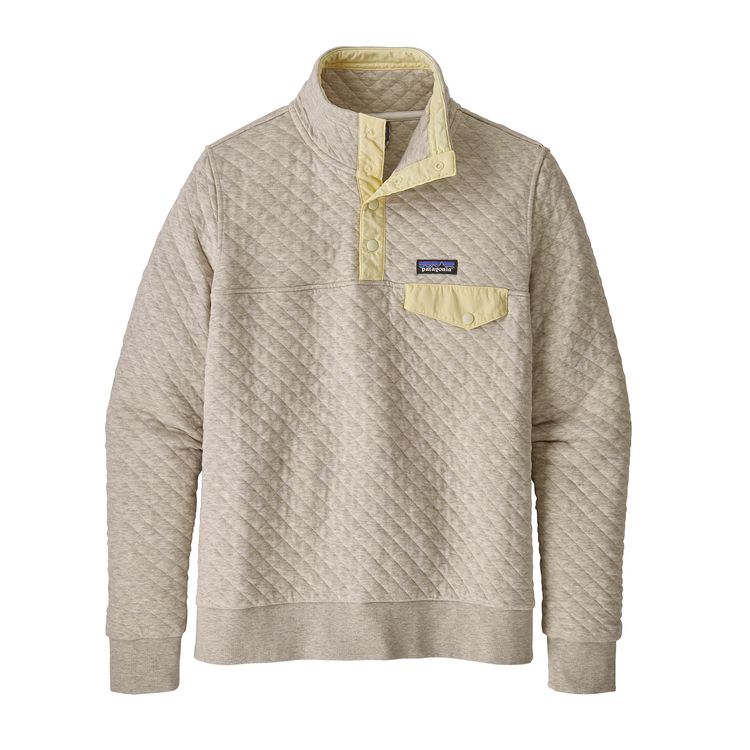PATAGONIA WOMEN'S ORGANIC COTTON QUILT SNAP-T PULLOVER (25282)