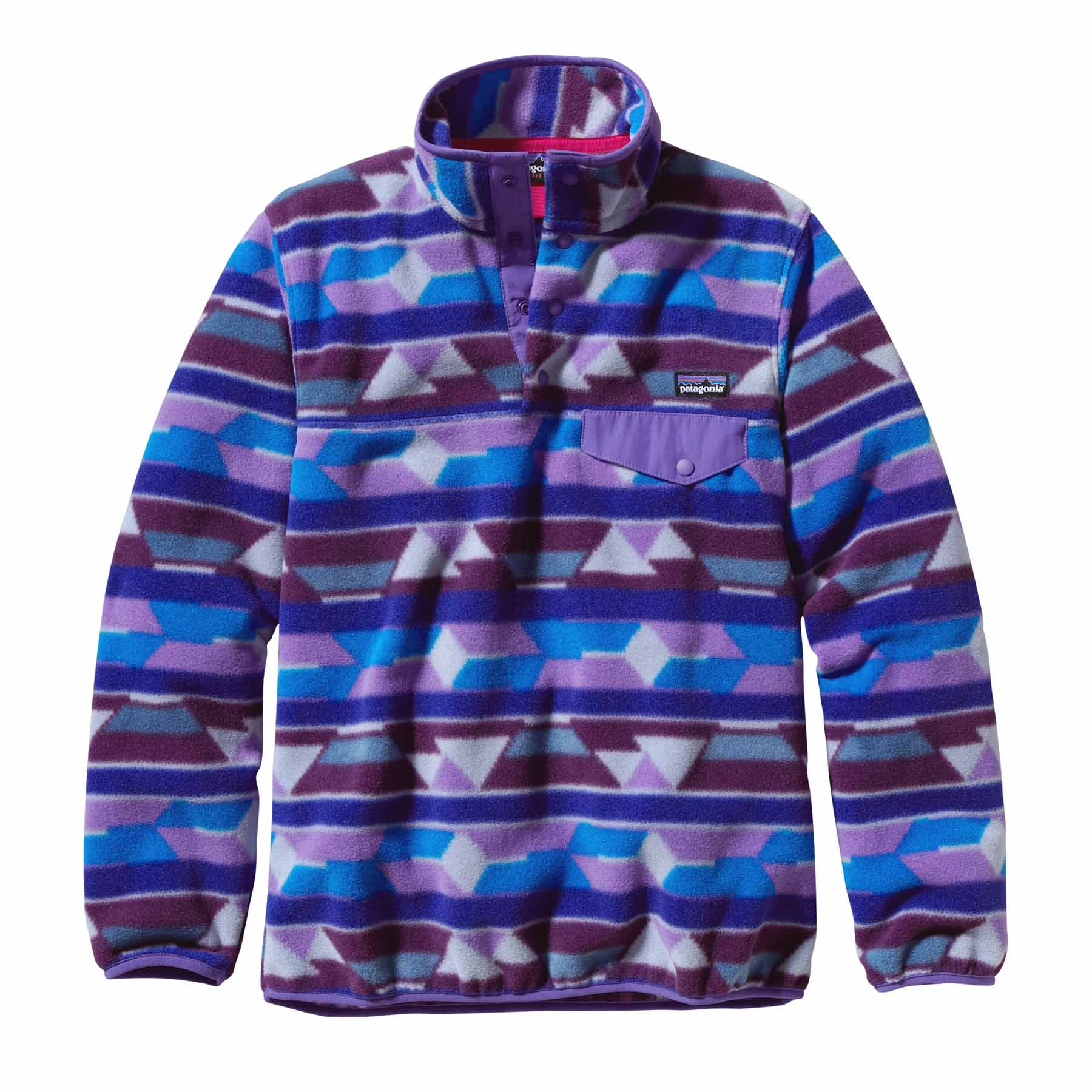 PATAGONIA W'S LW SYNCH SNAP-T P/O  (25455)