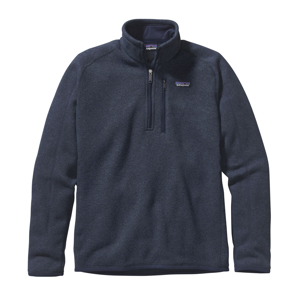 PATAGONIA MEN'S BETTER SWEATER 1/4 ZIP FLEECE (25522)