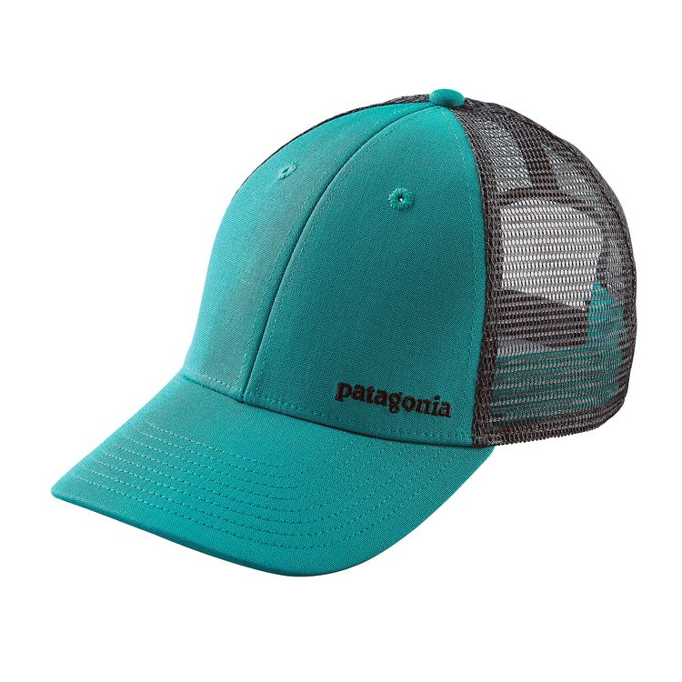PATAGONIA SMALL TEXT LOGO LOPRO TRUCKER HAT (38183)