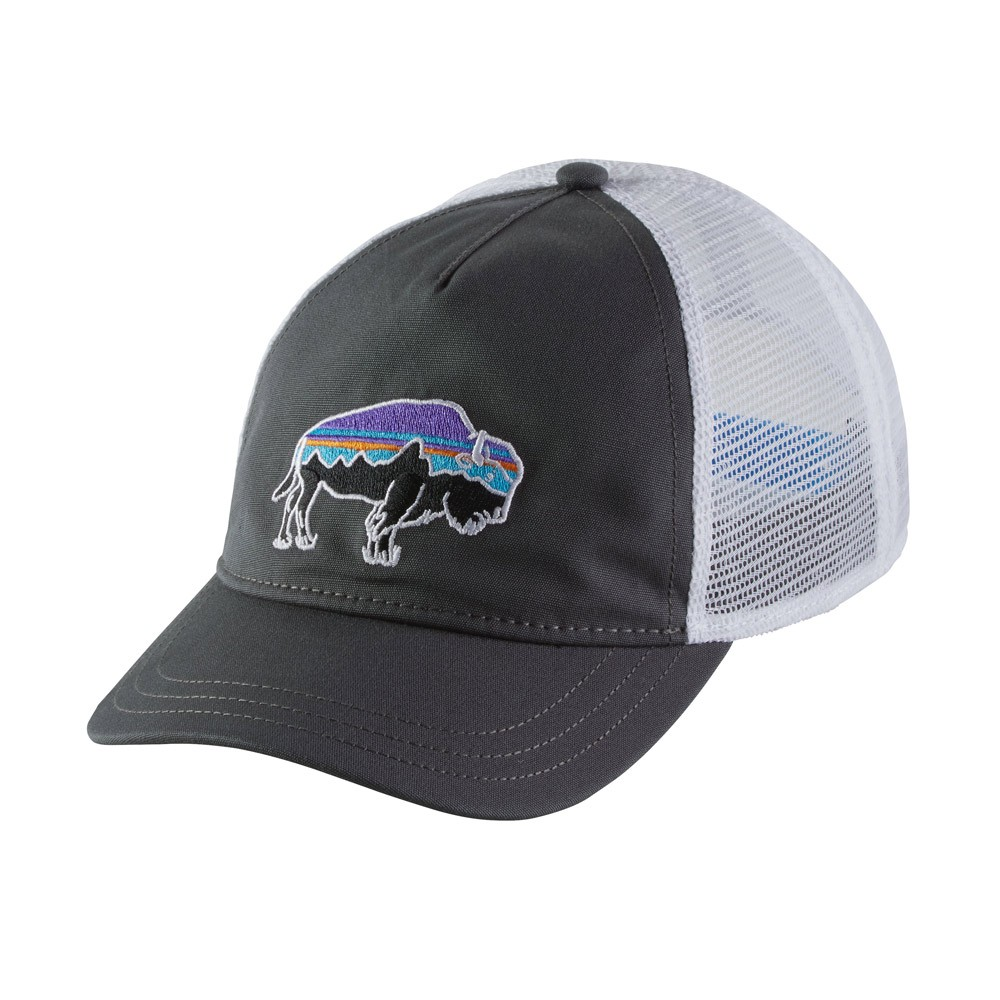 PATAGONIA WOMEN'S FITZ ROY BISON LAYBACK TRUCKER HAT (38196)