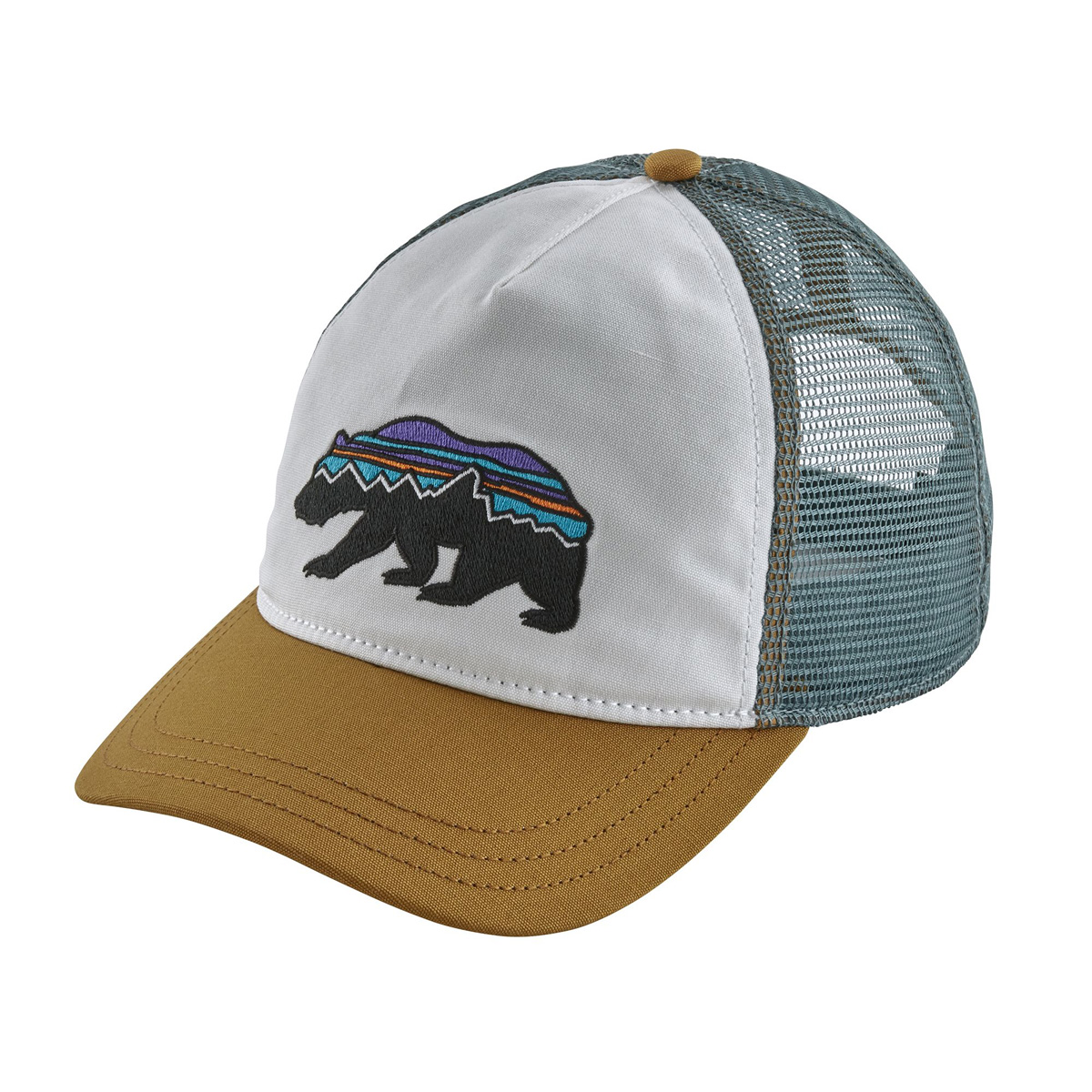 PATAGONIA WOMEN'S FITZ ROY BEAR LAYBACK TRUCKER HAT (38209)