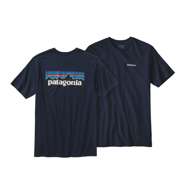 PATAGONIA MEN'S P-6 LOGO COTTON T-SHIRT (39806)
