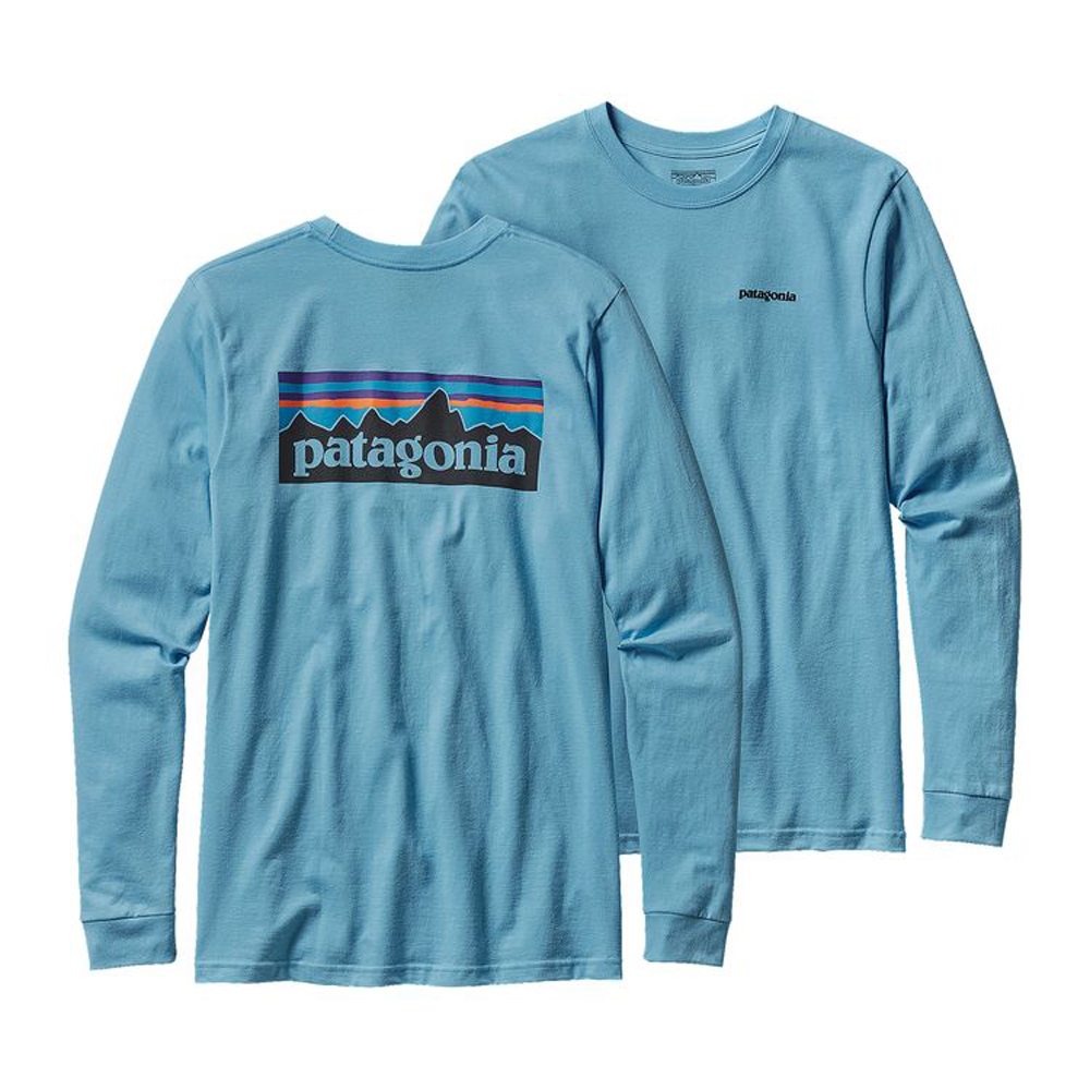 PATAGONIA MEN'S LONG-SLEEVED P-6 LOGO ORGANIC COTTON T-SHIRT (38933)