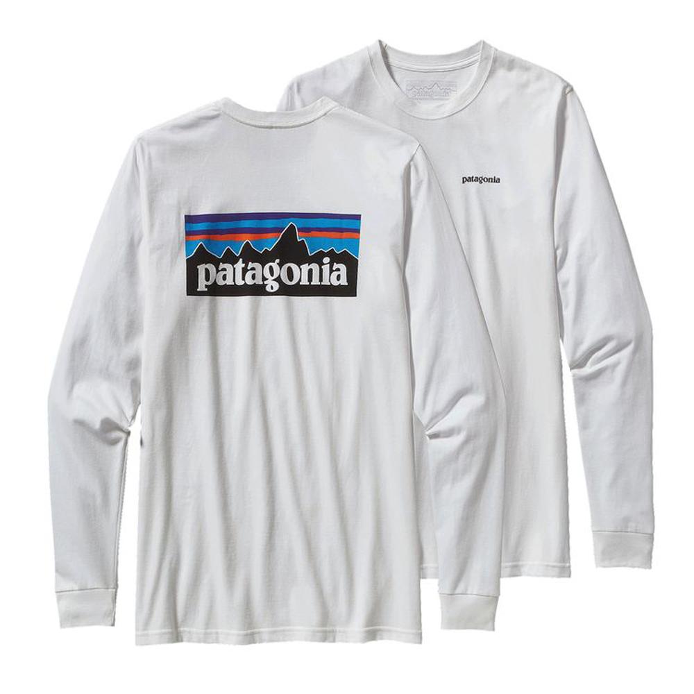 PATAGONIA MEN'S LONG-SLEEVED P-6 LOGO ORGANIC COTTON T-SHIRT (38933)