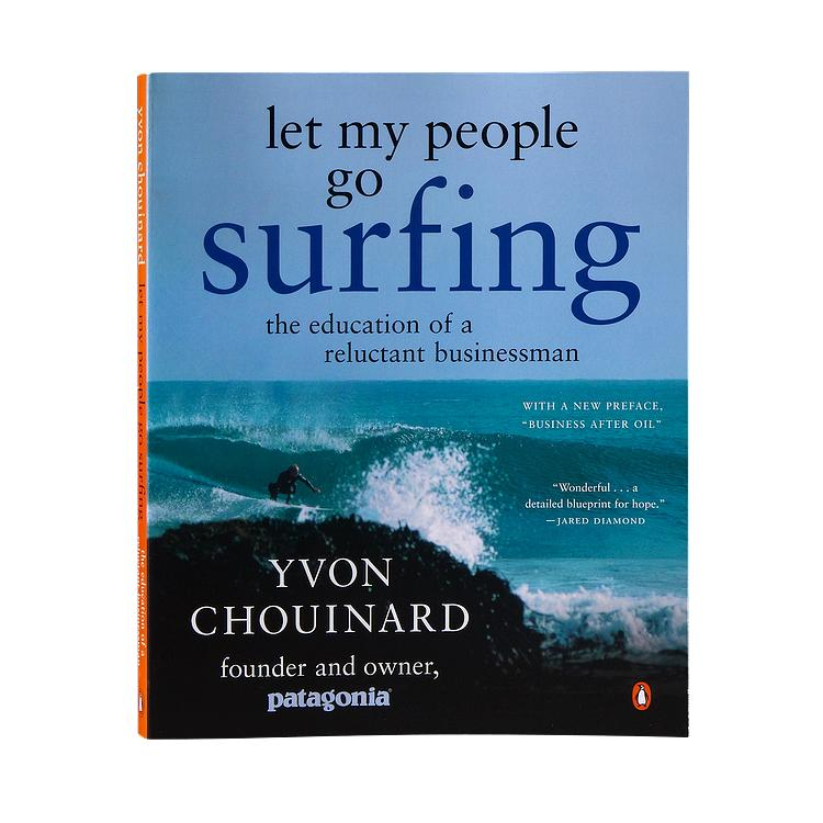 LET MY PEOPLE GO SURFING BOOK - BY YVON CHOUINARD