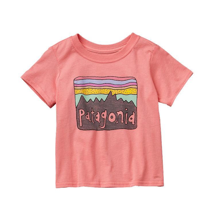 PATAGONIA BABY FITZ ROY SKIES COTTON T-SHIRT (60406)