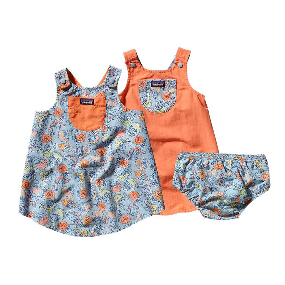 Patagonia Baby Reversible Baggies Jumper 60430 Team One
