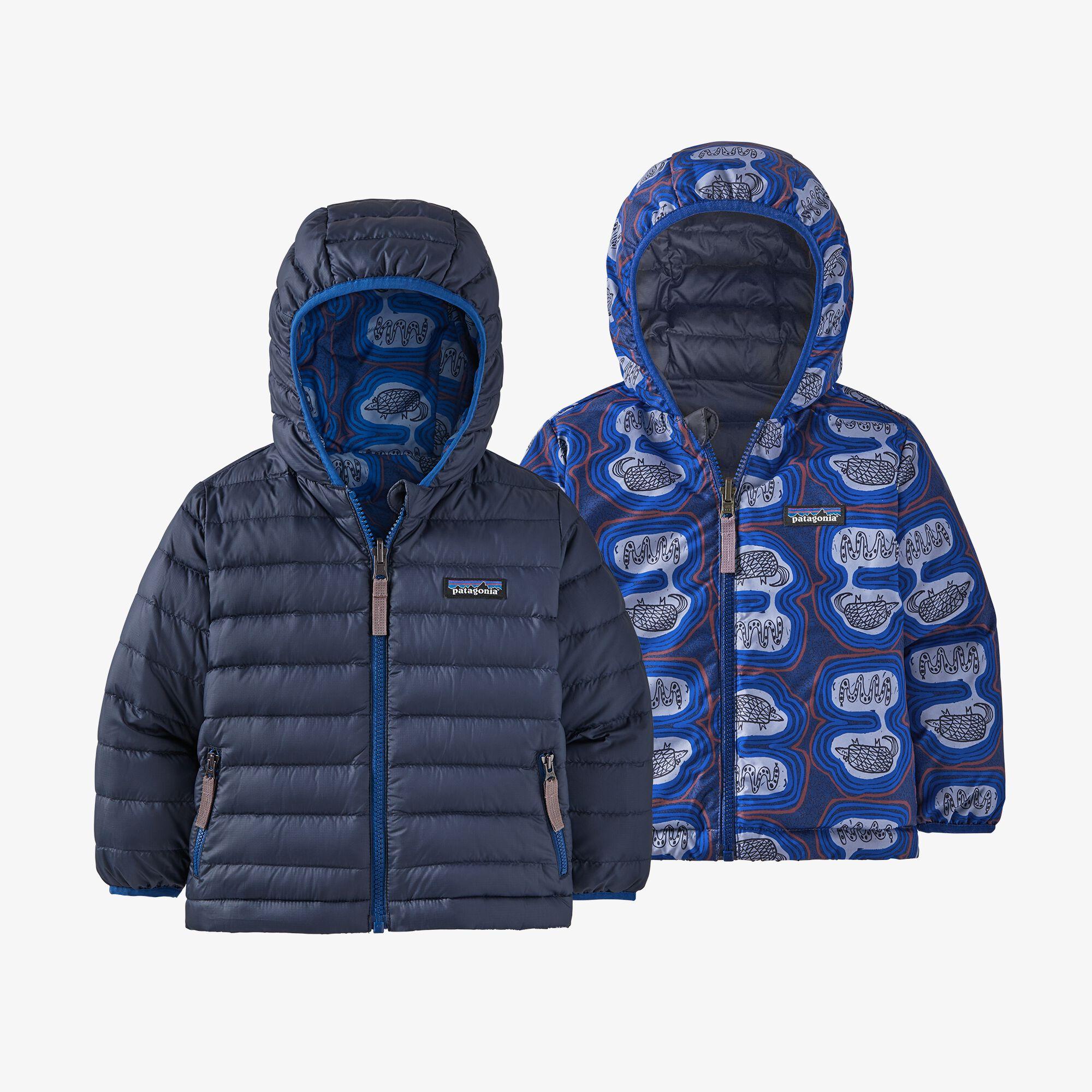 Patagonia Baby Reversible Down Sweater Hoody (61371)