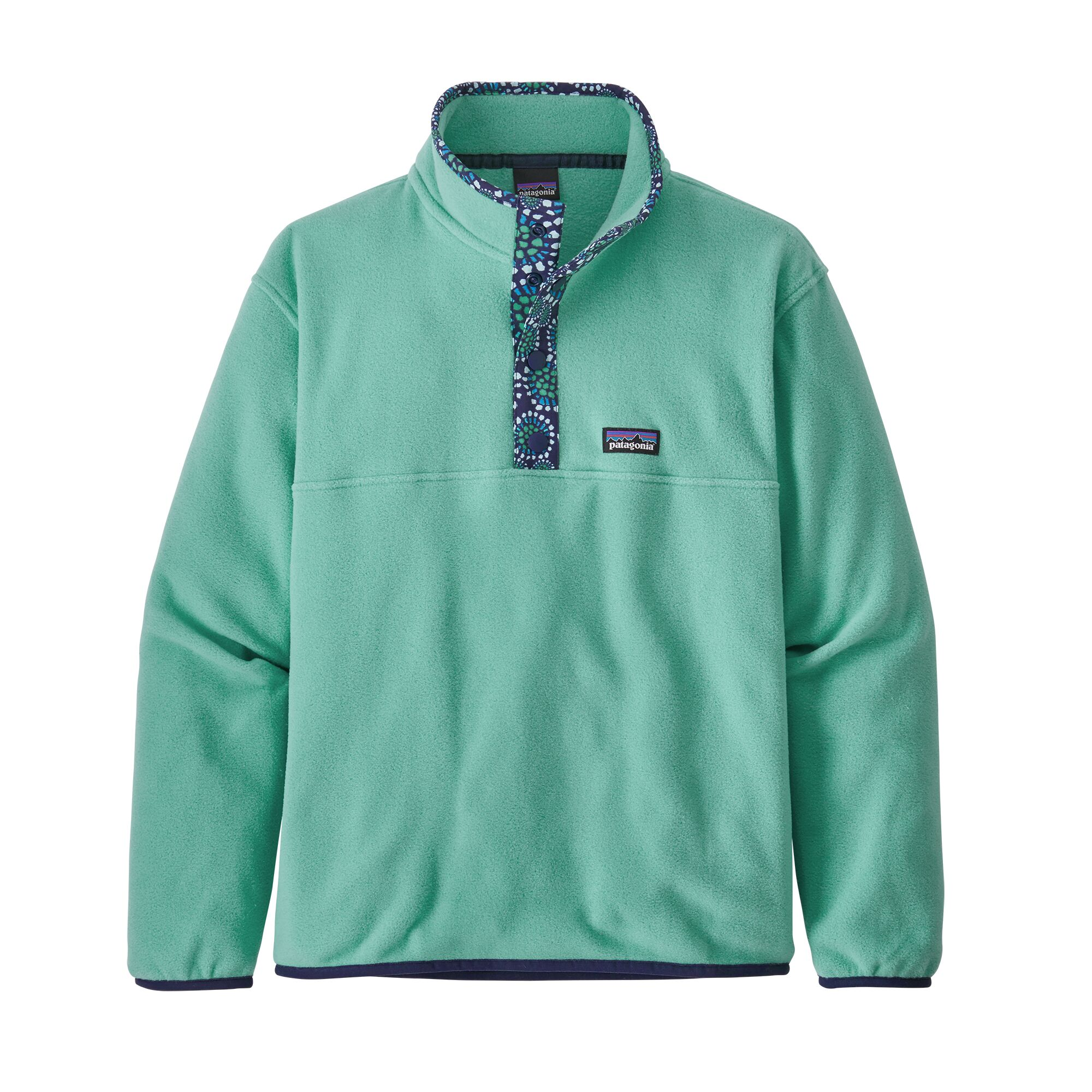 Patagonia Girls' Micro D Snap-T Fleece Pullover (65375)