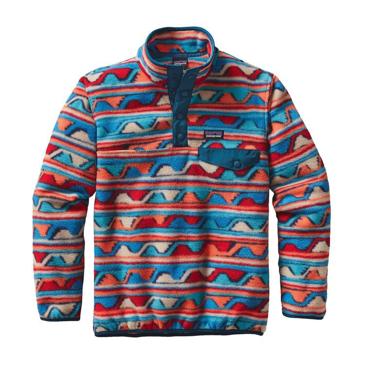 PATAGONIA BOYS' LIGHTWEIGHT SYNCHILLA SNAP-T P/O (65571)