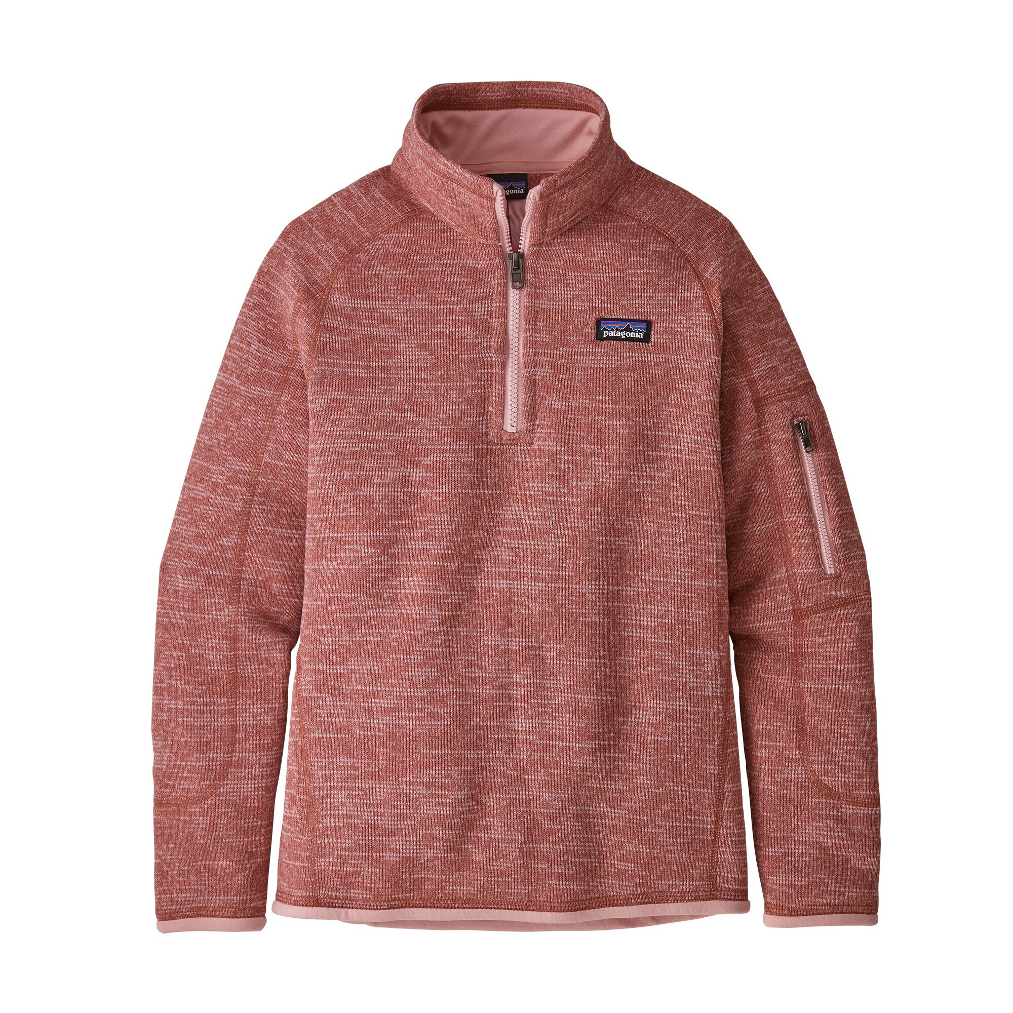 Patagonia Girls' Better Sweater 1/4-Zip Fleece (65696)
