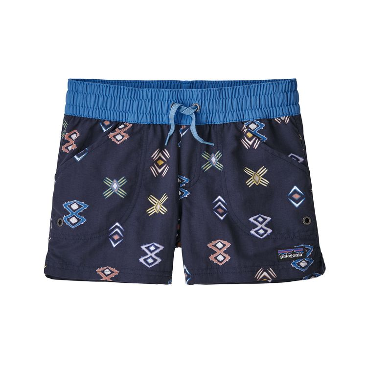 PATAGONIA GIRLS' COSTA RICA BAGGIES SHORTS (67087)