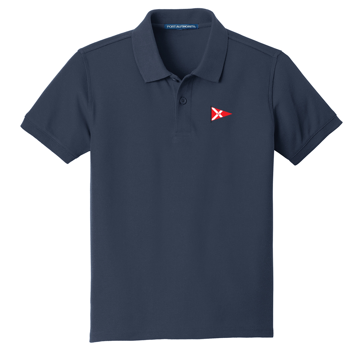 Quissett Yacht Club - Youth Cotton Polo (QYC103)
