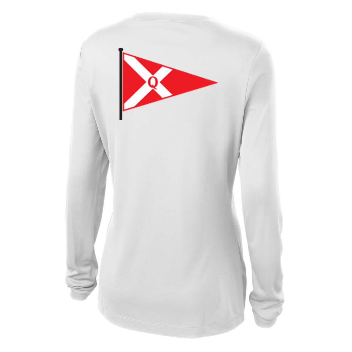 Quissett Yacht Club - Women's Long Sleeve Tech Tee (QYC302)