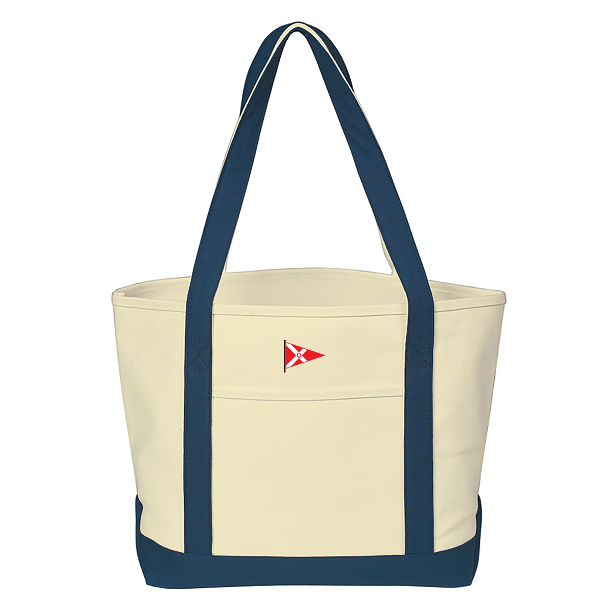 Quissett Yacht Club - Canvas Tote (QYC601)