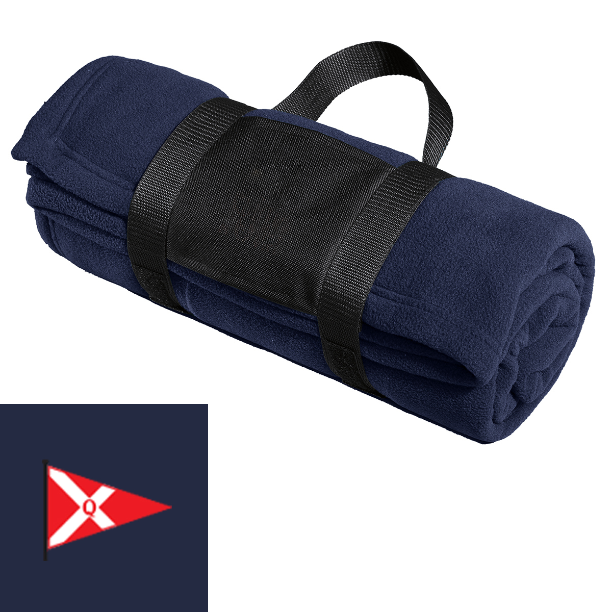 Quissett Yacht Club - Fleece Blanket