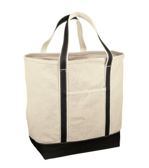 LARGE COTTON CANVAS TOTE (RH35)