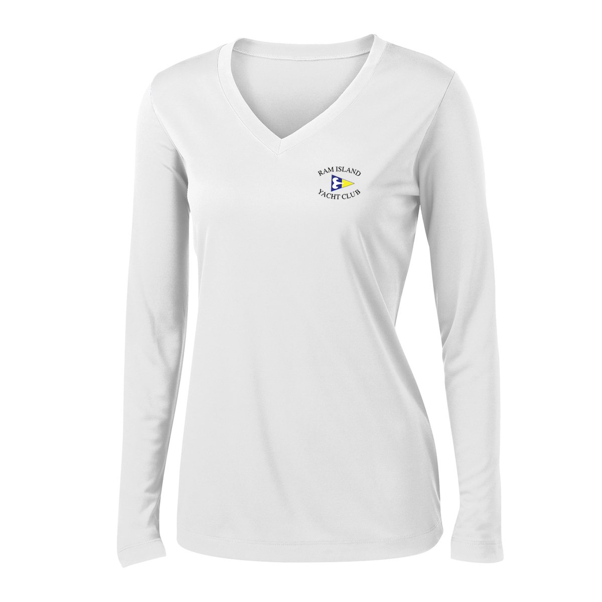 RIYC - Women's L/S TECH TEE - LEFT CHEST ONLY