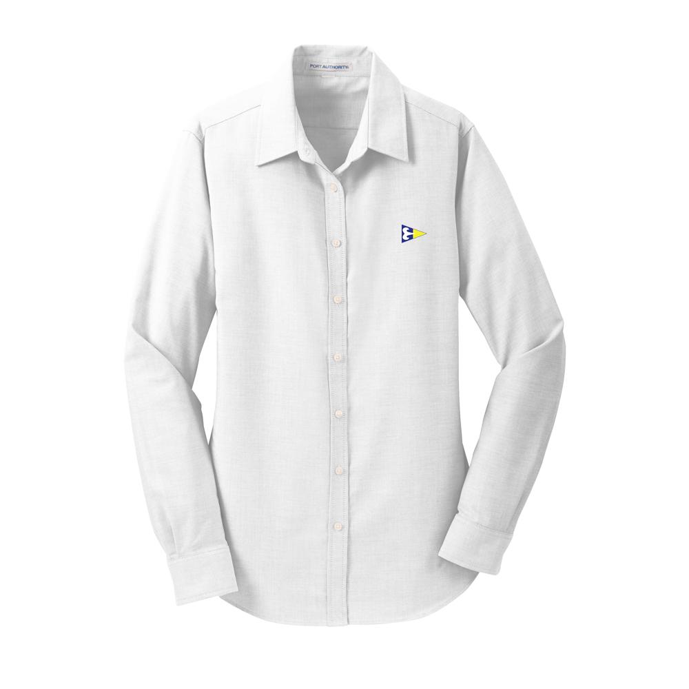 Ram Island Yacht Club - Women's Oxford Shirt (RIY302)