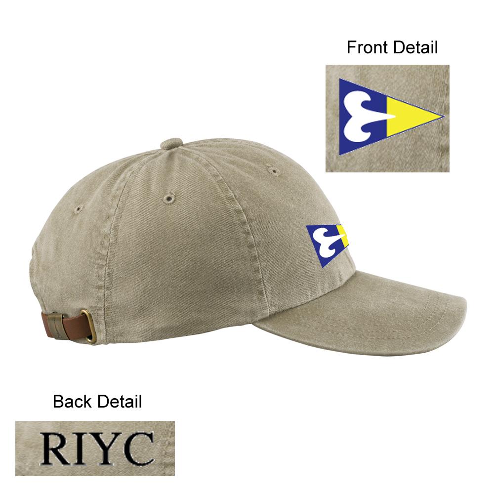 Ram Island Yacht Club - Cotton Twill Hat (RIY901)