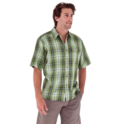 ROYAL ROBBINS MENS PLATEAU PLAID S/S SHIRT (71864)