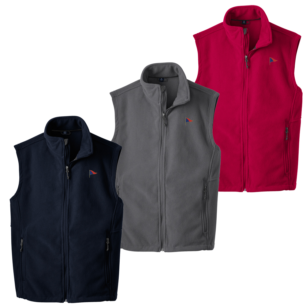 SACHEM'S HEAD YC MEN'S FLEECE VEST